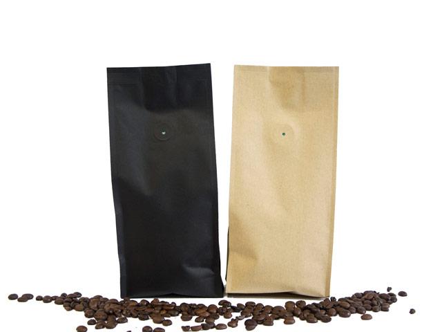 Seitenfaltenbeutel für Kaffee